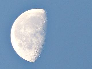 下限の月(の1日前), an old moon