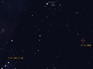 ラブジョイ彗星(stellarium), Comet Lovejoy