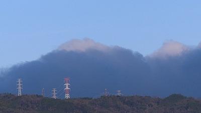 山のような不思議な雲, mysterious cloud
