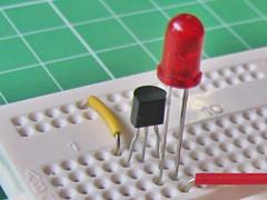 LED教室 実験4, led challenge step4
