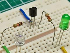 LED教室 実験5, led challenge step 5