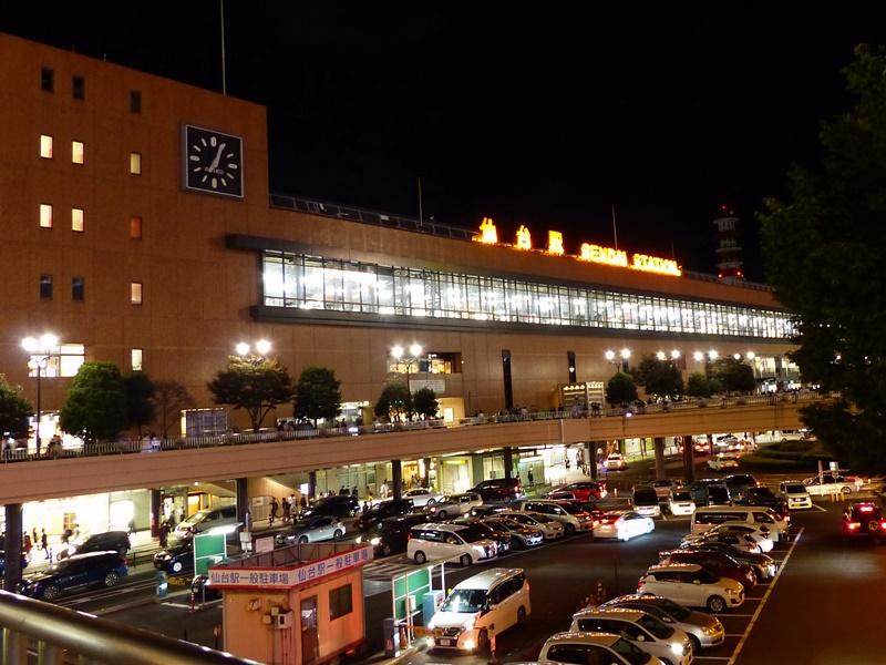 仙台駅, Sendai station in Miyagi pref.