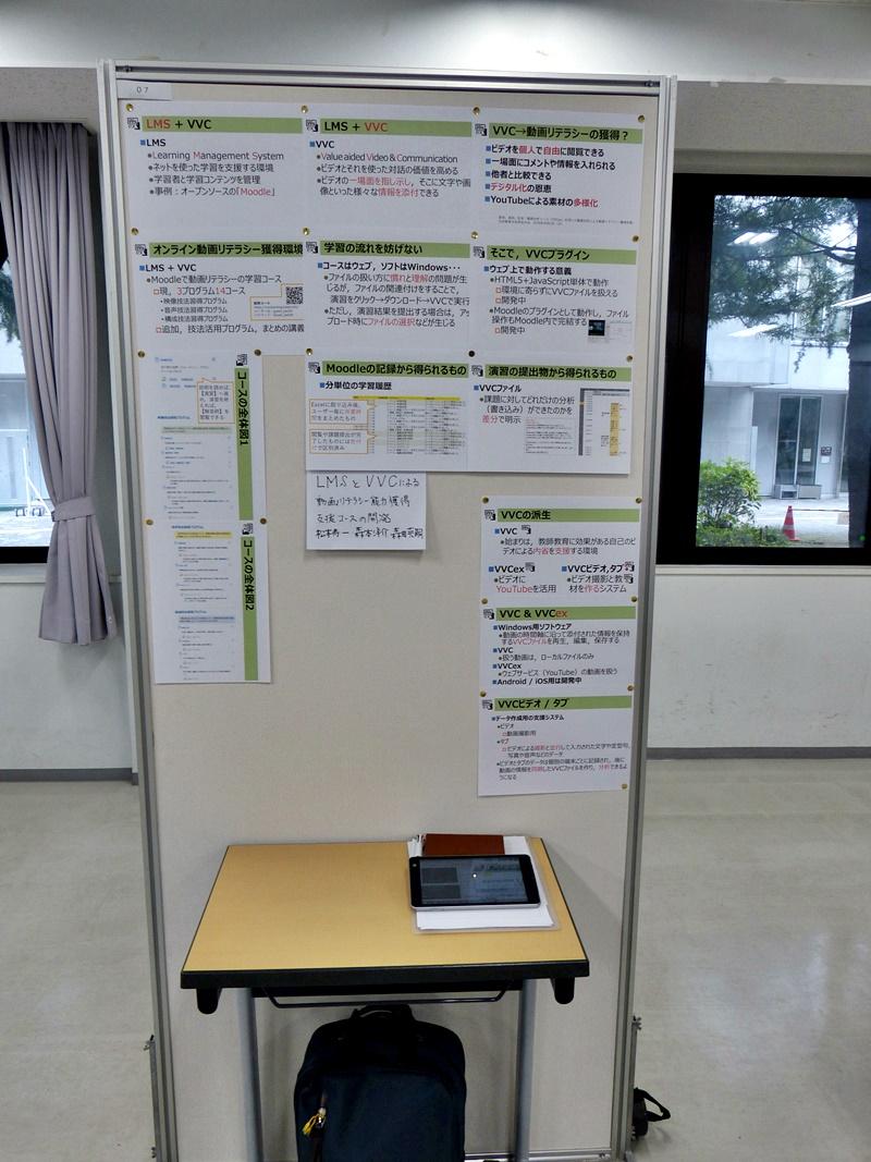 ポスター発表, Poster presentation