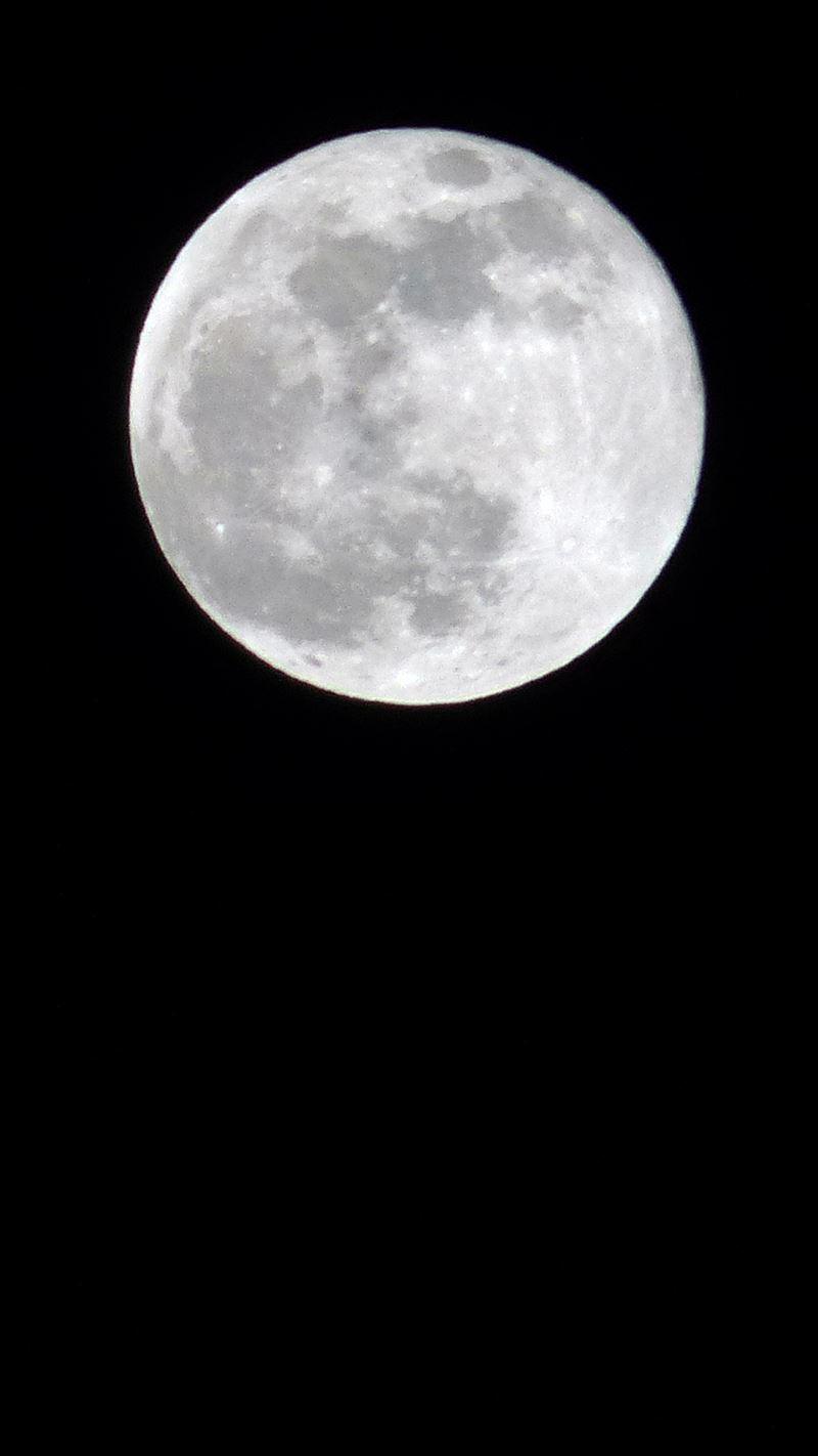 2019年1月のスーパームーン, super (full) moon 2019 by ToLab