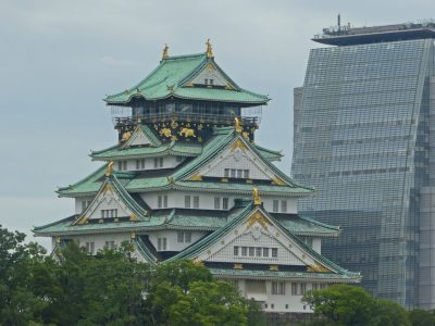 大阪城, osaka castle in japan Osaka pref.