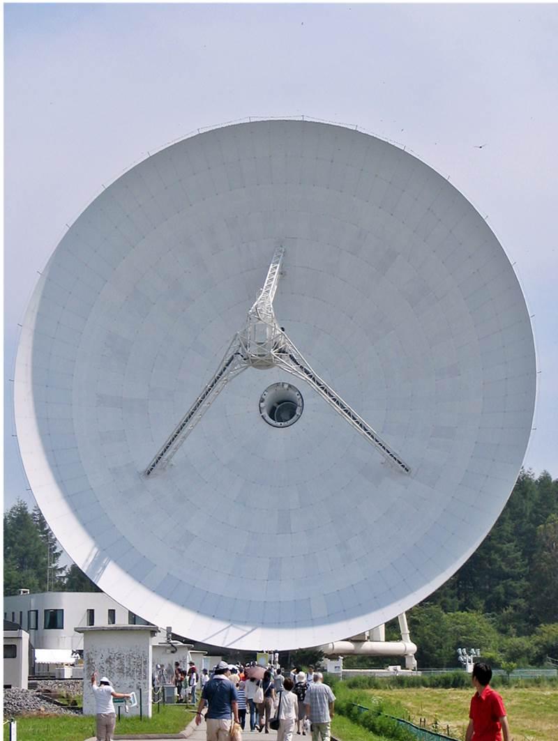 国立天文台野辺山の電波望遠鏡, 45-m telescope in Nobeyama Radio Observatory