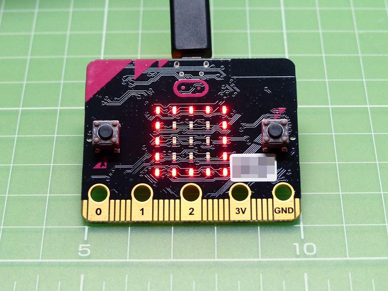マイクロビットの実機, microbit