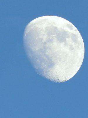2021年の夏至の日のお月さん, the moon at the summer solstice