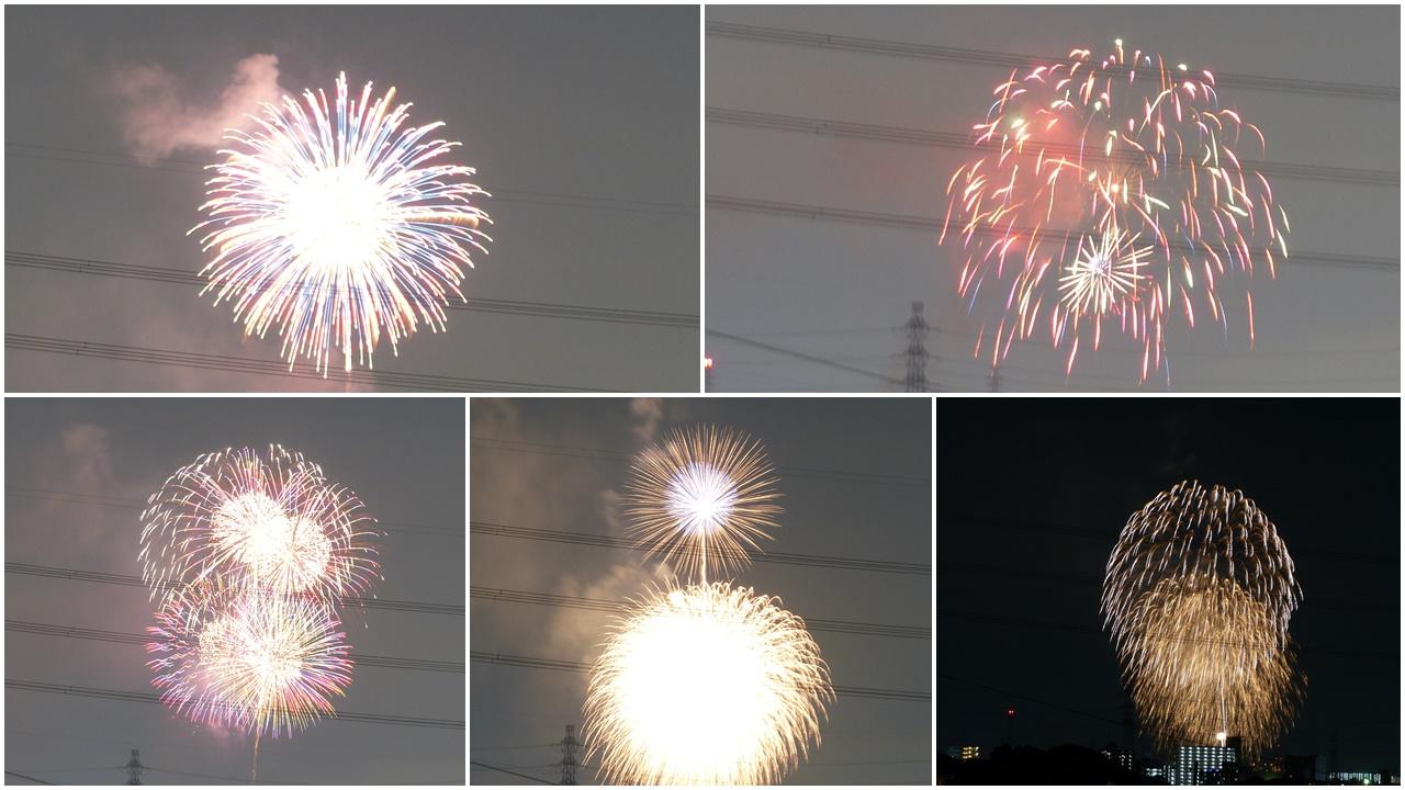 夏の終わりの花火, last fireworks in Takatsuki city